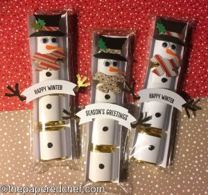 Nugget Treats - Snowmen