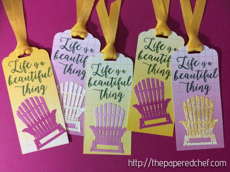 Life is a Beautiful Thing Bookmark