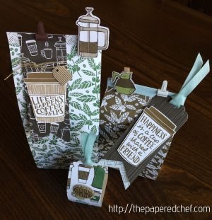 Coffee Break themed coffee and candle gifts