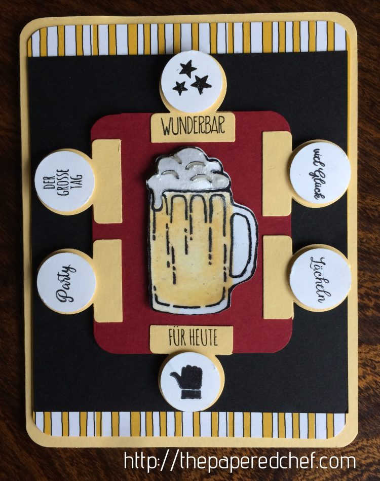 German Beer Card