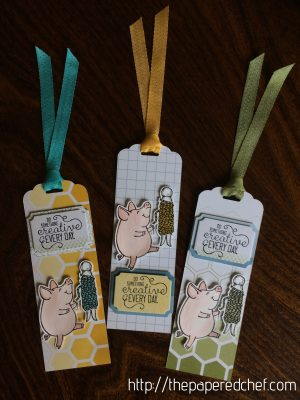 Do Something Creative Piggy Bookmark