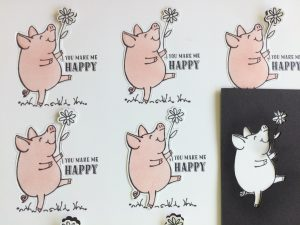 Scan N Cut example cut - Little Piggy