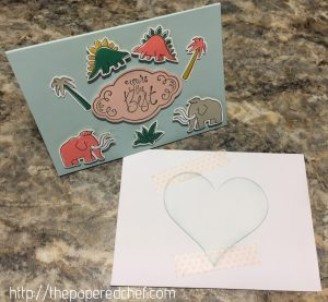 Pick a Pattern Dinosaur Card