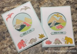 Positively Picturesque Dinosaur Cards