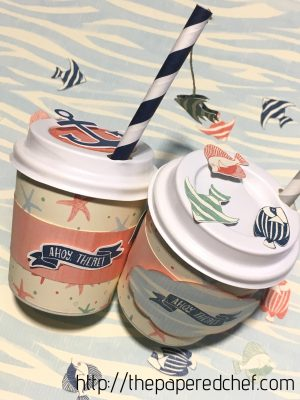 By the Shore Mini Coffee Cups