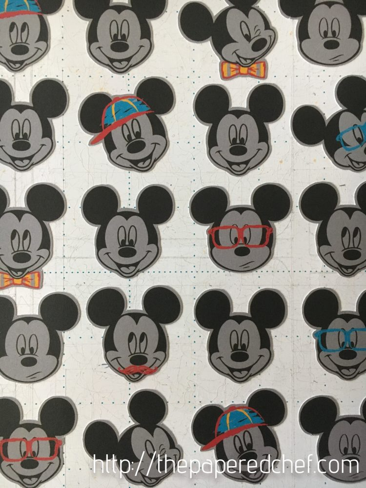 Cutting out Mickey Mouse with the Brother Scan N' Cut