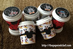 Mickey Mouse Mini Coffee Cups