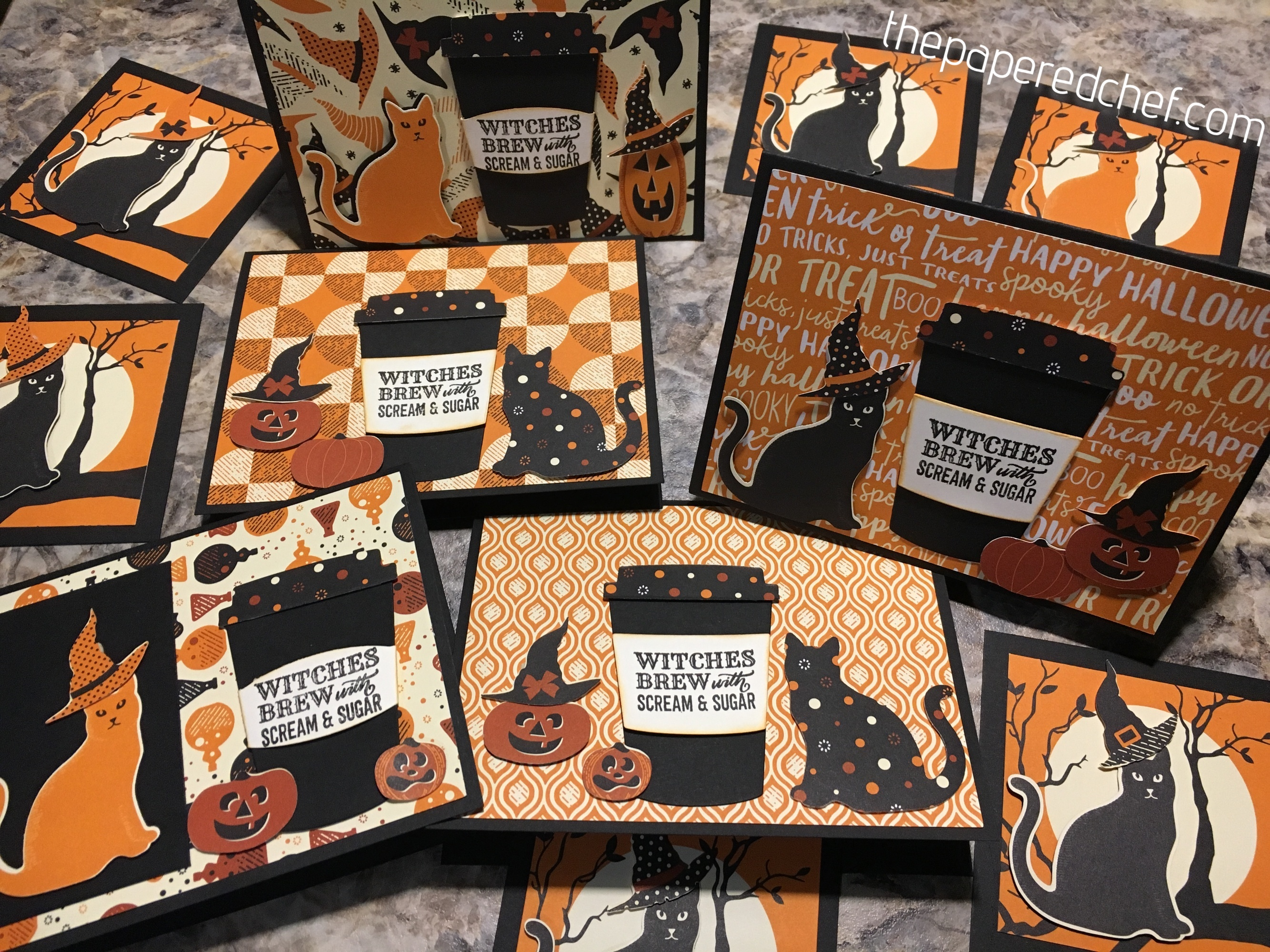 Witches Brew With Scream Amp Sugar Spooky Night Cards