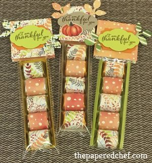 Painted Autumn Nugget Treats
