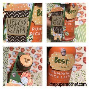 Pumpkin Spice Latte Teacher Gift