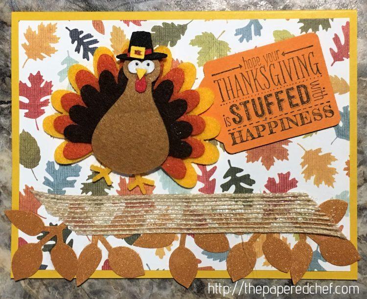 Thanksgiving Turkey Card