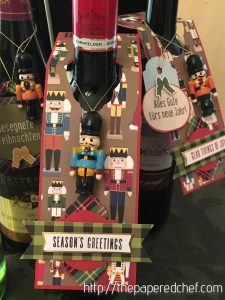 Christmas Around the World Wine Tag