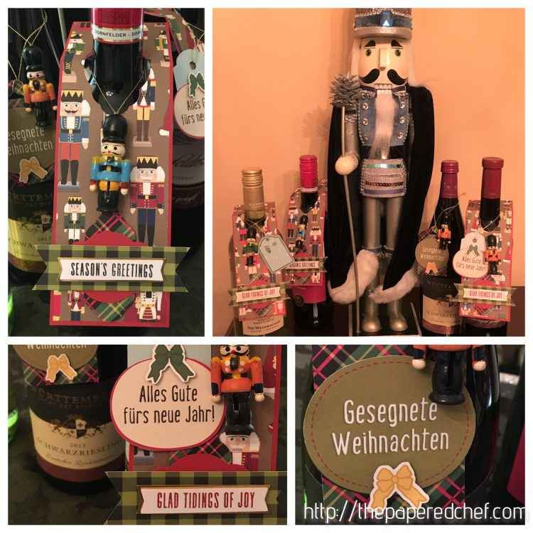 Christmas Around the World Wine Tags