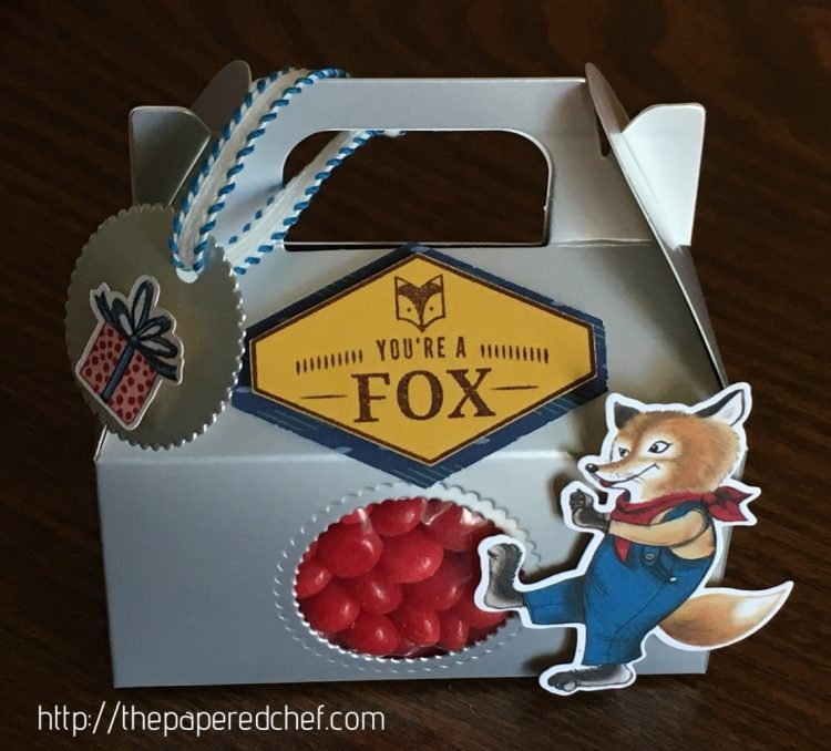 Foxy Mini Silver Gable Box