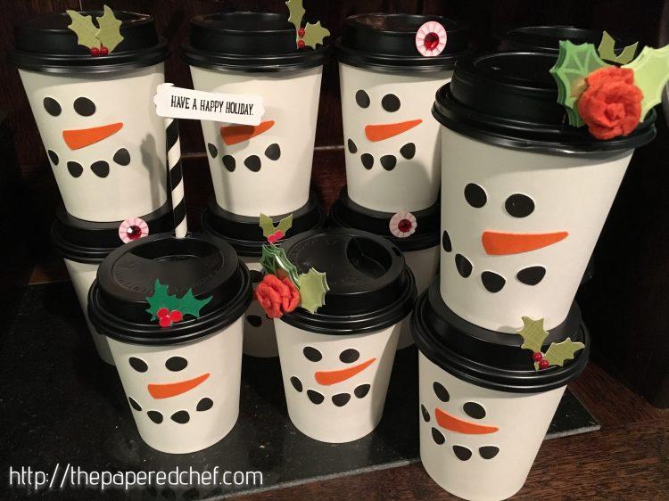 Snowman Cups