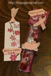 Hold on to Hope Bookmark and This Little Piggy Treat