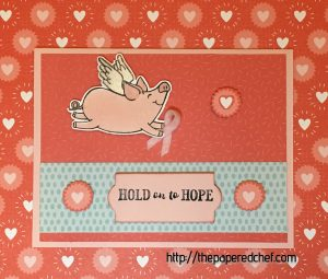 Hold on to Hope This Little Piggy Card