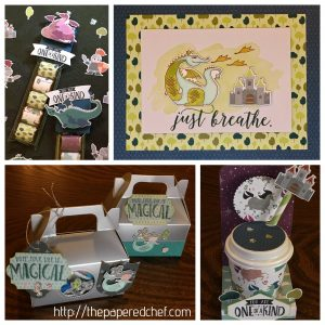 12 Projects created with the Myths & Magic suite by Stampin' Up