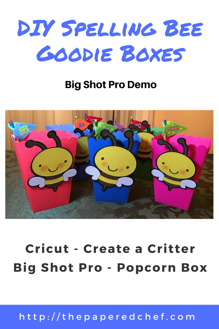DIY Spelling Bee Goodie Boxes