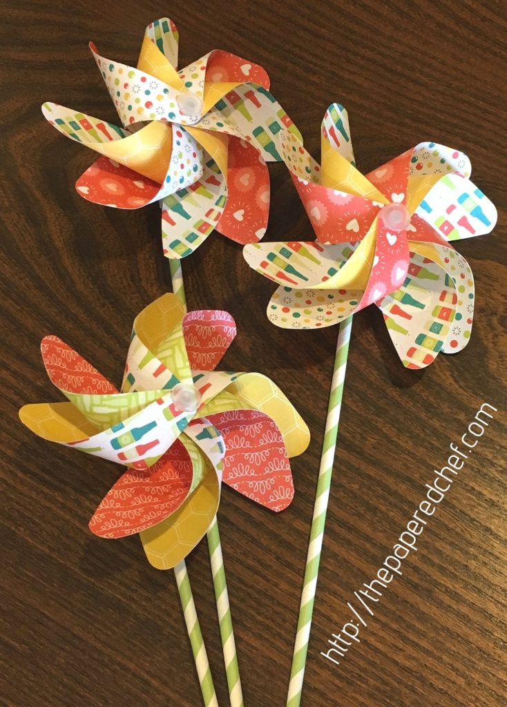 Bubbles & Fizz Pinwheels