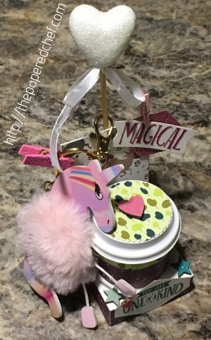 Myths & Magic Unicorn Mini Coffee Cup Holder