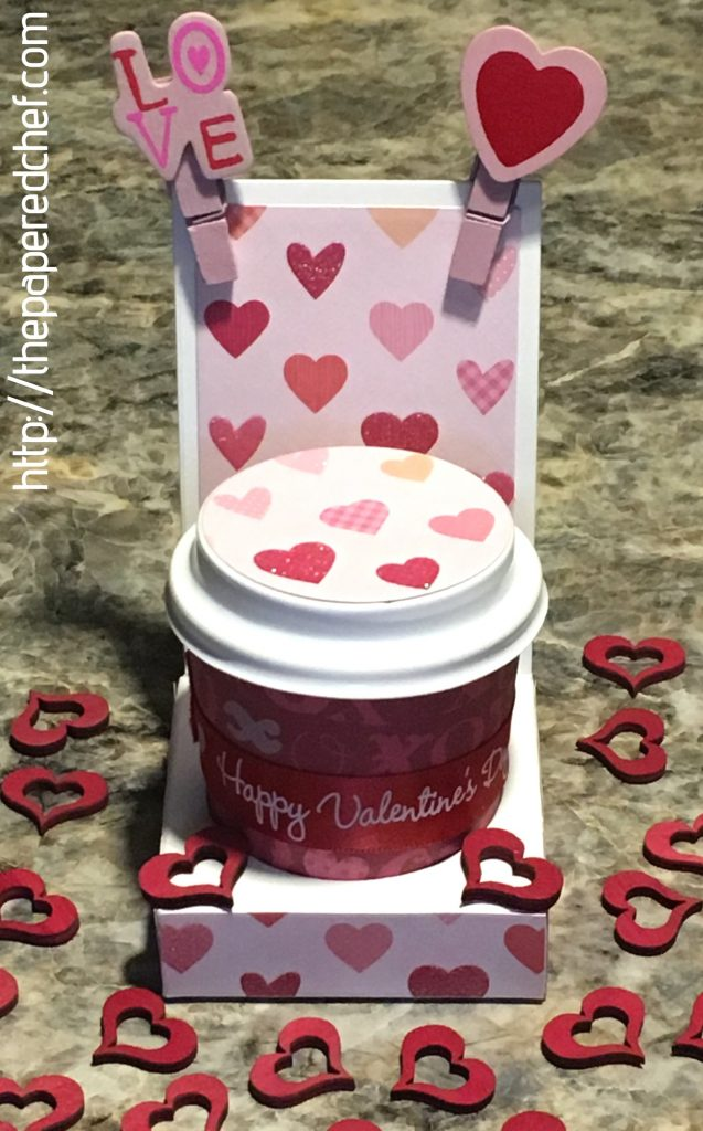 Valentine's Day Mini Coffee Cup Holder