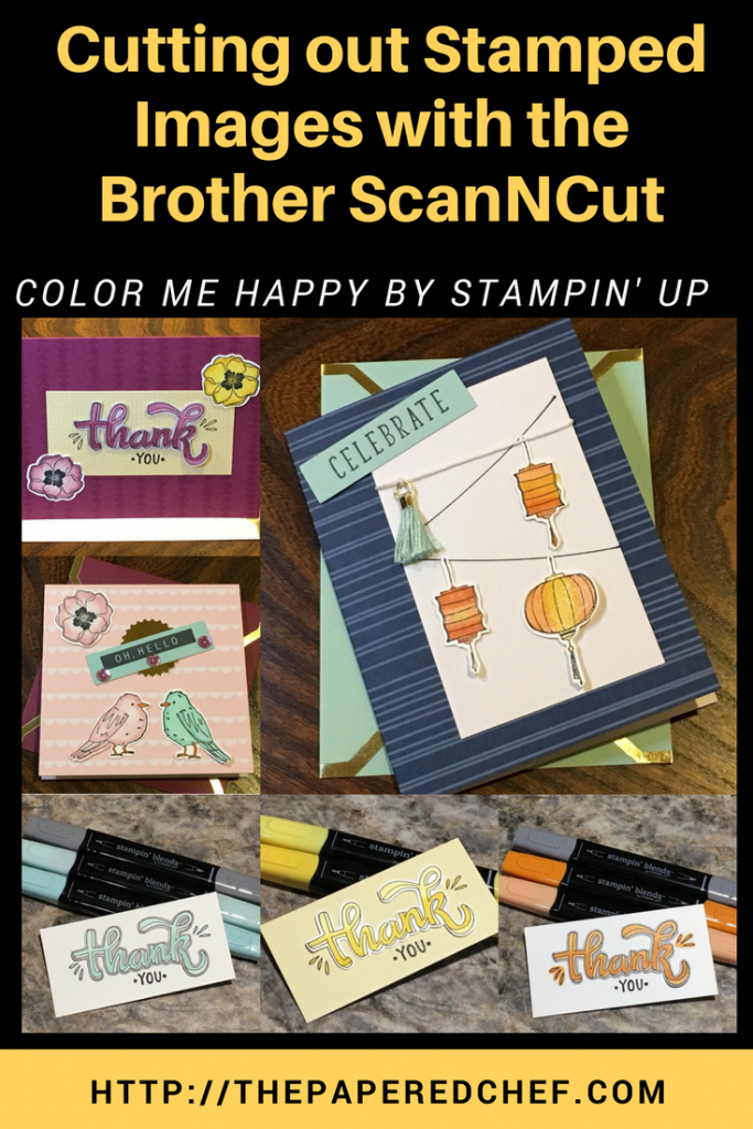 Brother ScanNCut - Color Me Happy