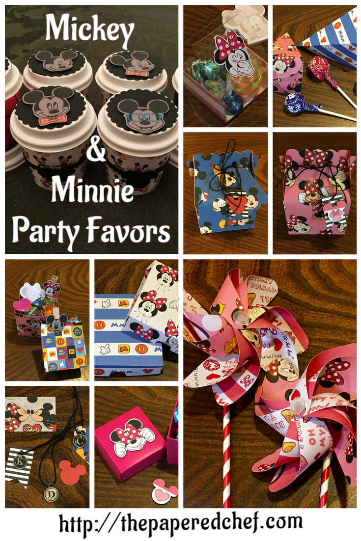 Mickey & Minnie Party Favors
