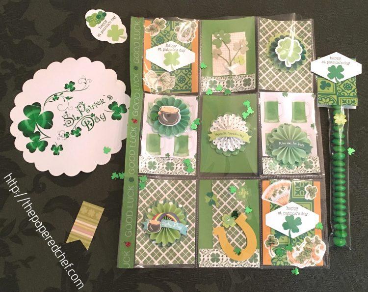St. Patrick's Day Pocket Letter
