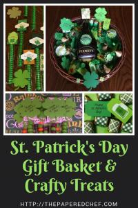 St. Patrick's Day Gift Basket