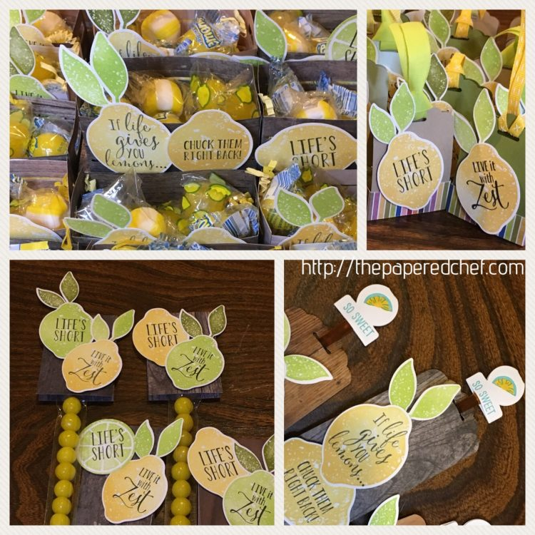 Lemon Zest Swaps