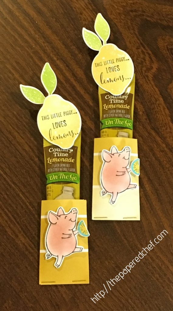 This Little Piggy Lemonade Treats