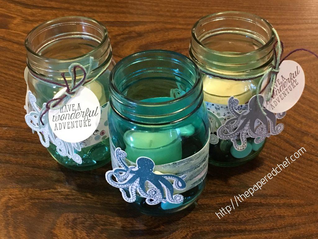 Tranquil Textures Mason Jars