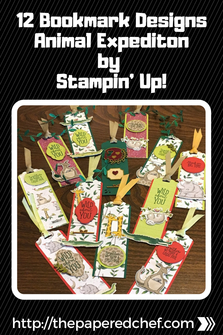 Animal Expedition Bookmarks by Stampin' Up!