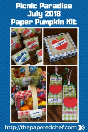 Paper Pumpkin - July 2018 - Picnic Paradise