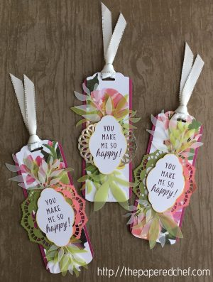 Blissful Blooms Bookmarks