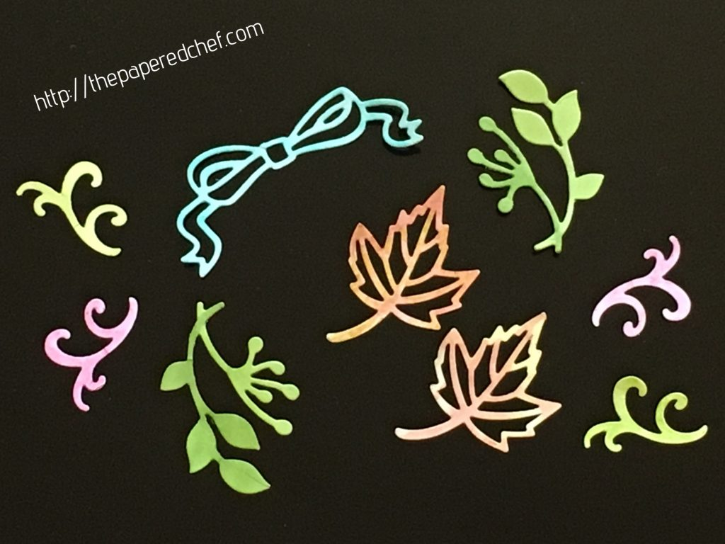 Stitched Seasons Framelits by Stampin' Up
