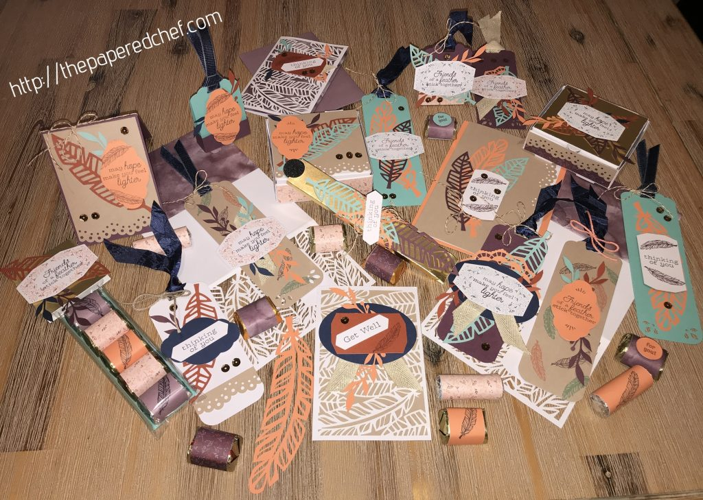 Birds of a Feather Projects - Paper Pumpkin Projects