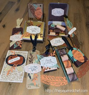 Friends of a Feather Projects - October 2018 Paper Pumpkin Kit