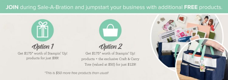 Starter Kit Options by Stampin' Up!