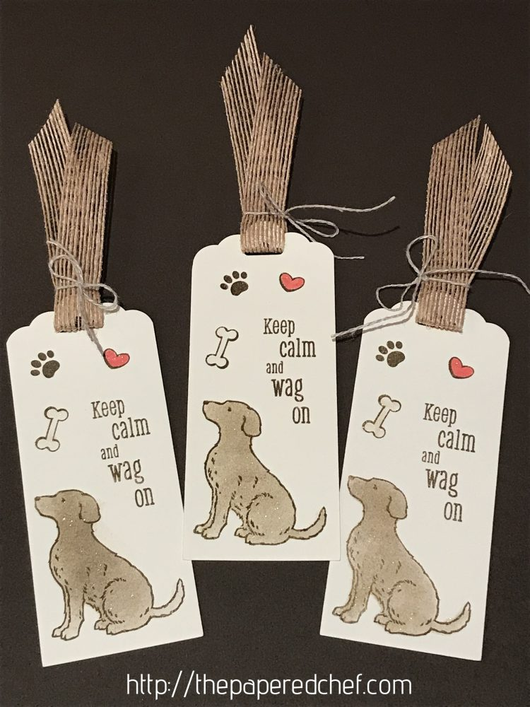 Happy Tails Bookmark Tutorial - 2019 Occasions Catalog