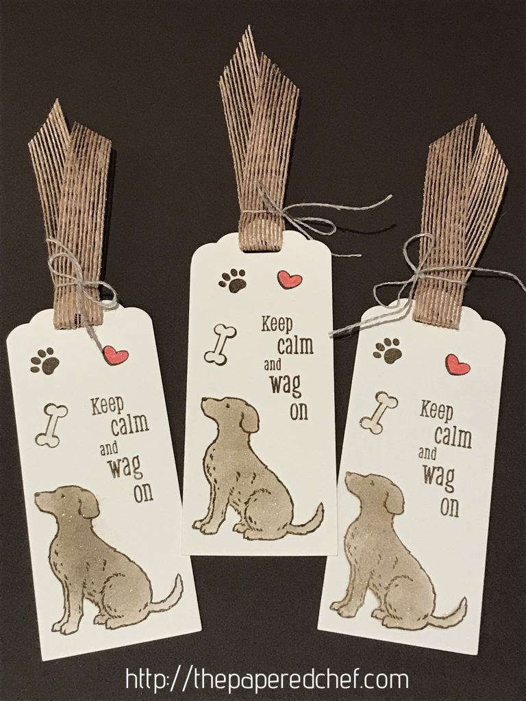 Happy Tails Bookmarks - 2019 Occasions by Stampin' Up!