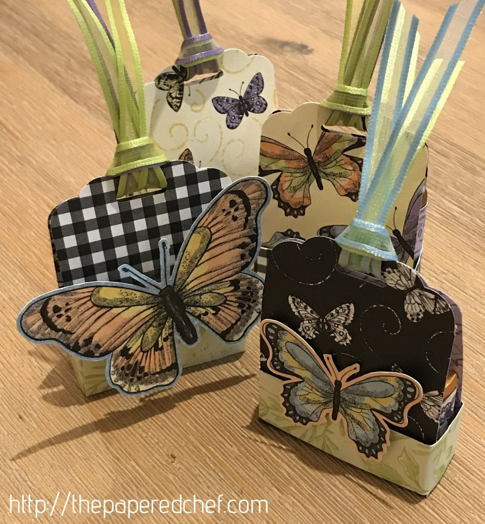 Botanical Butterfly - Tag Treats
