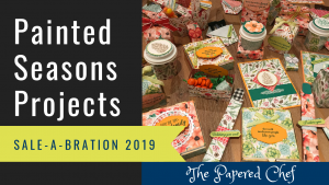 Painted Seasons Projects - Stampin' Up!