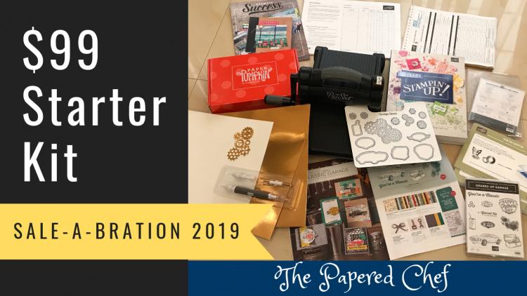 Sample Starter Kit - Stampin' Up! Sale-A-Bration $99 Special - Big Shot & Geared Up Garage Bundle