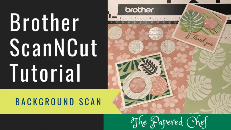 Brother ScanNCut - Background Scan - Tropical Escape
