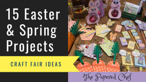Easter Paper Crafts - Spring Craft Fair Projects