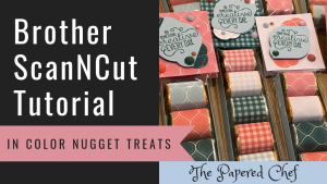 Brother ScanNCut - Hershey Nugget Treats - 2019-2021 In Colors