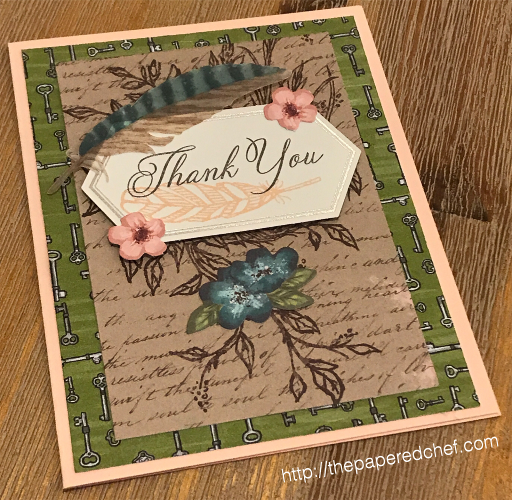 Hugs from Shelli - Paper Pumpkin Kit - Thank You Card