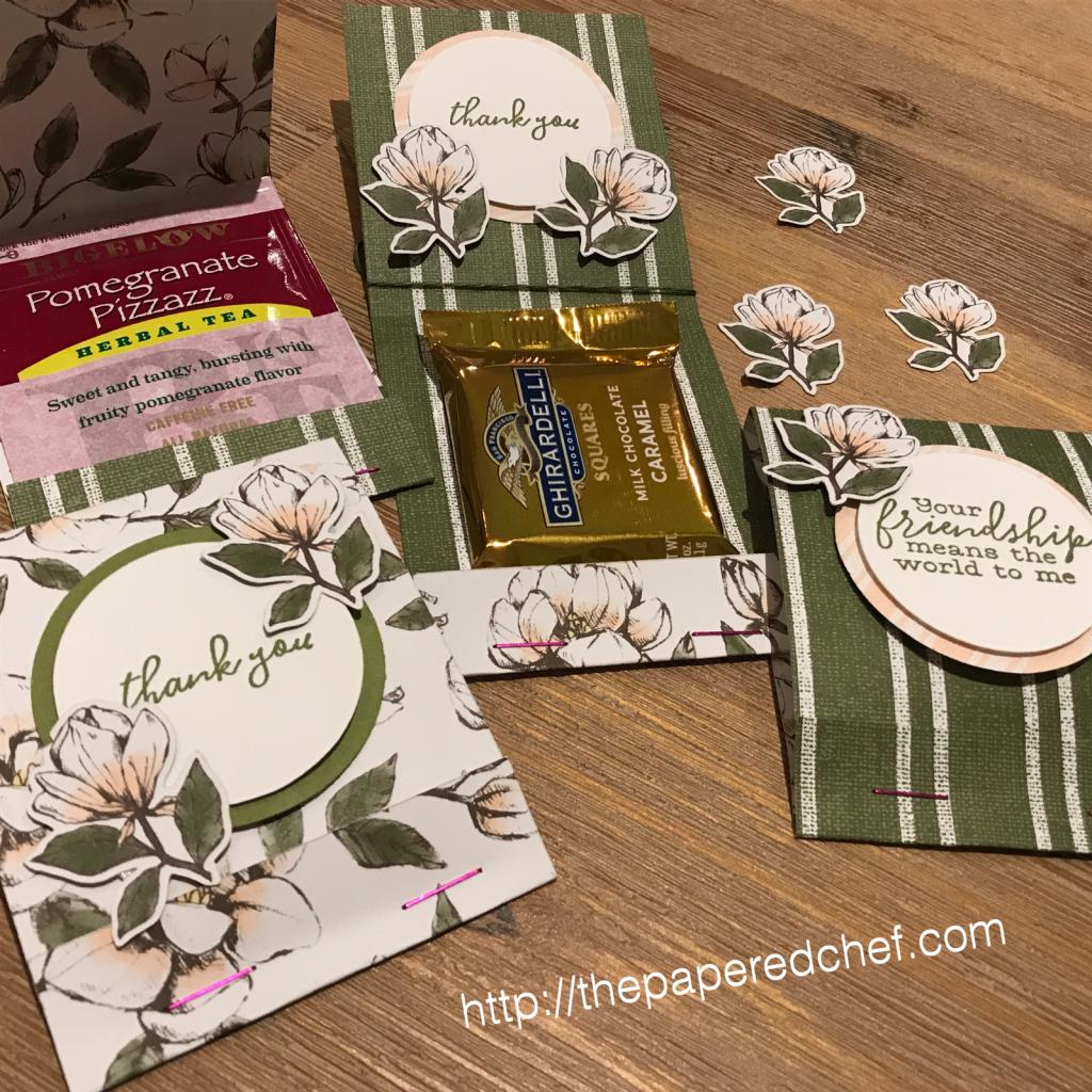Magnolia Lane Tea or Chocolate Holders